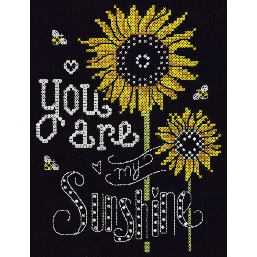 click here to view larger image of You Are My Sunshine (counted cross stitch kit)