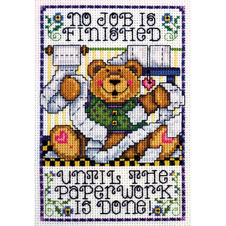 click here to view larger image of Paperwork (counted cross stitch kit)