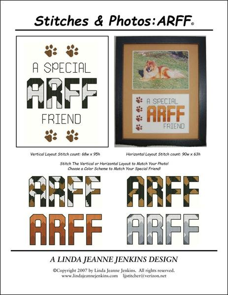 click here to view larger image of Stitches and Photos - Arrf (chart)