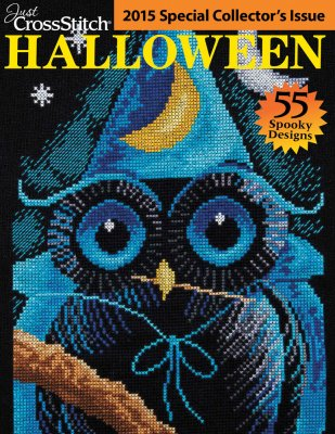 click here to view larger image of Just Cross Stitch  -  2015 Halloween Collectors Issue (magazines)