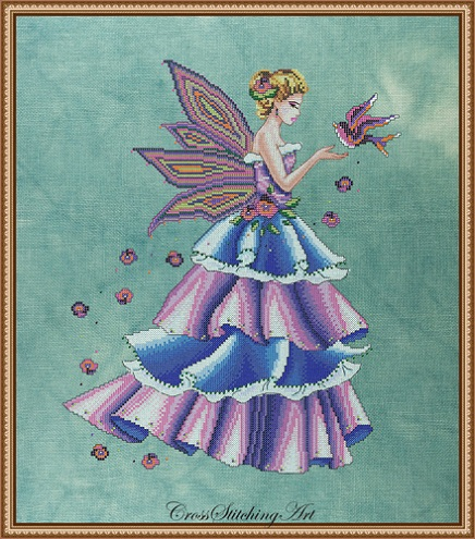 click here to view larger image of Florence - The Spring Fairy (chart)