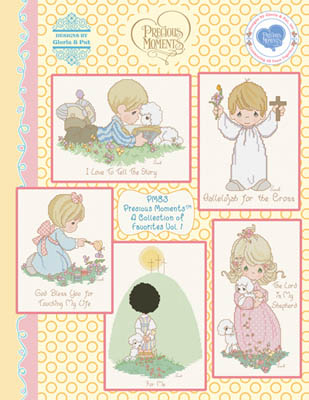 click here to view larger image of Precious Moments Favorites 1 (chart)