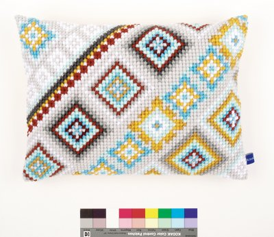 click here to view larger image of Ethnical IV Cushion (needlepoint)