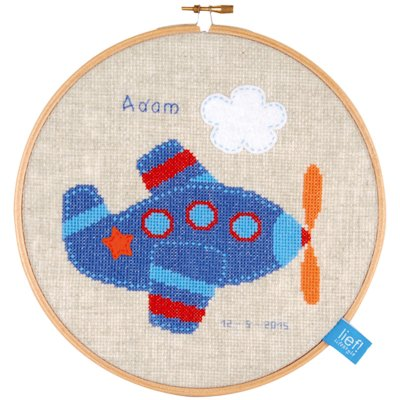 click here to view larger image of Aeroplane II (counted cross stitch kit)