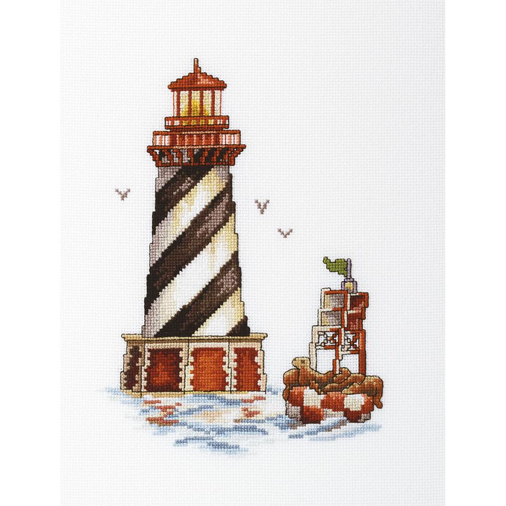 click here to view larger image of Seal Bay Lighthouse (counted cross stitch kit)