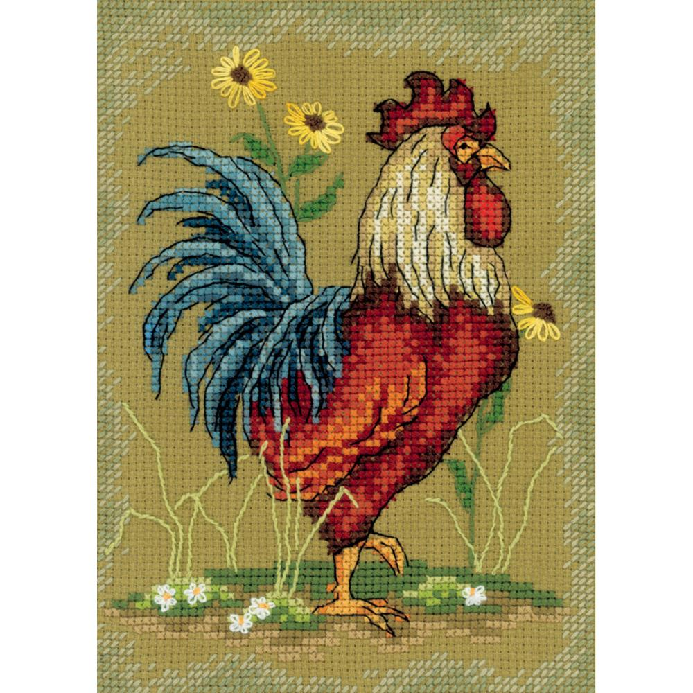click here to view larger image of At The Crack of Dawn 1 (counted cross stitch kit)