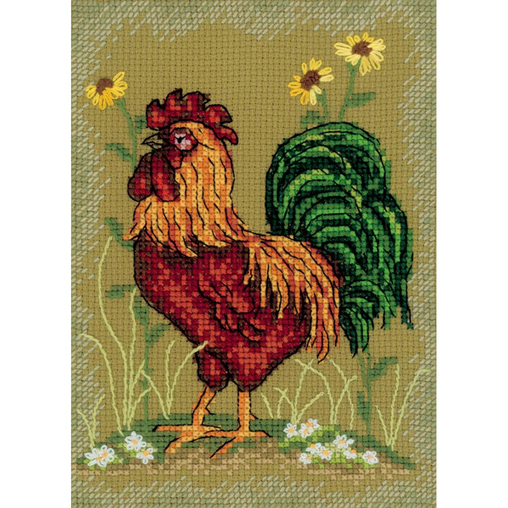 click here to view larger image of At The Crack of Dawn 2 (counted cross stitch kit)