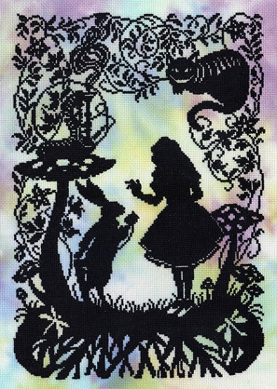 click here to view larger image of Alice in Wonderland (counted cross stitch kit)