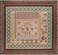 click here to view larger image of Antonia De Cruzba Reproduction Sampler (chart)