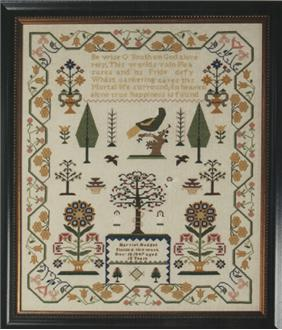 click here to view larger image of Harriet Hodges Reproduction Sampler (chart)