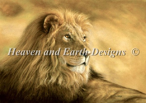 click here to view larger image of Panthera Leo Lion (chart)