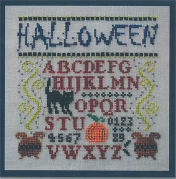 click here to view larger image of Mini Halloween Sampler (chart)