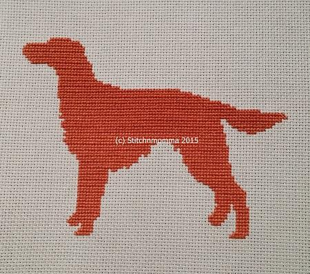 click here to view larger image of Dog Silhouette - Irish Setter (chart)