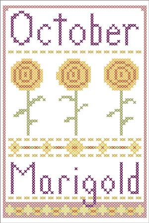 click here to view larger image of October Marigold (chart)