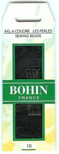 click here to view larger image of Bohin Size 10 Short Beading Needles (needles)