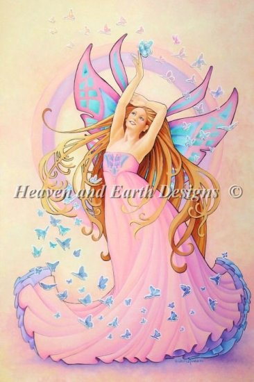 click here to view larger image of Butterfly Fairy - Rosario (chart)