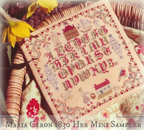 click here to view larger image of Maria Ceron 1830 Her Mini Sampler (chart)