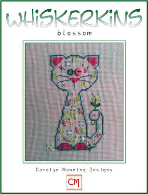 click here to view larger image of Blossom - May Whiskerkin (chart with charms/buttons)