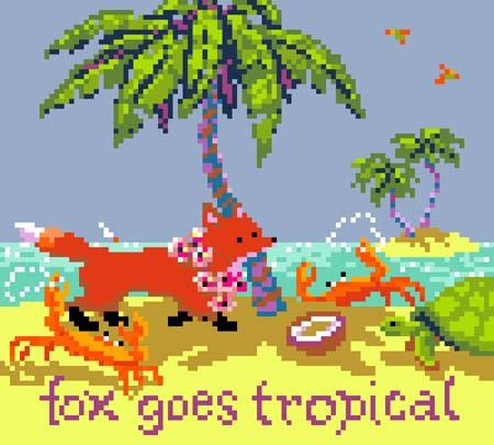 click here to view larger image of Fox Goes Tropical (chart)