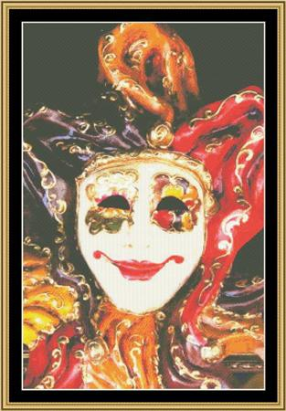 click here to view larger image of Mardi Gras Collection - Masks of Carnival 1 (chart)