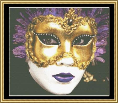 click here to view larger image of Mardi Gras Collection - Masks of Mardi Gras 1 (chart)