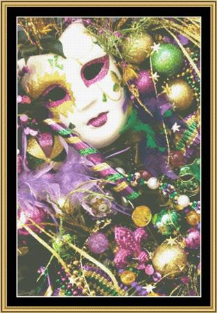 click here to view larger image of Mardi Gras Collection - Mardi Gras Accessories (chart)