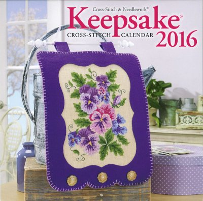 click here to view larger image of Cross Stitch and Needlework Keepsake Calendar 2016 (chart)