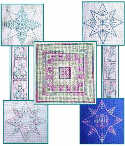 click here to view larger image of Blackwork Collection - Under the Stars (book)