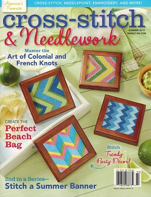 click here to view larger image of Cross Stitch & Needlework Magazine - Summer 2015 (magazines)