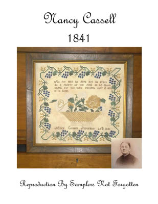 click here to view larger image of Nancy Cassell 1841 (chart)
