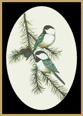 click here to view larger image of Chickadees (chart)