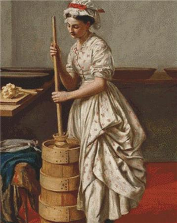 click here to view larger image of Butter Churn, The (chart)