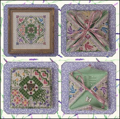 click here to view larger image of Summer In The Meadow (includes embellishments) (chart with charms/buttons)
