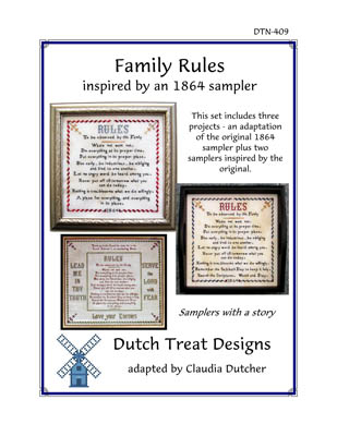 click here to view larger image of Family Rules (chart)