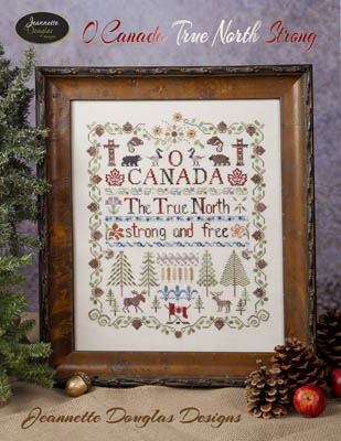 click here to view larger image of O Canada True North Strong Sampler (chart)