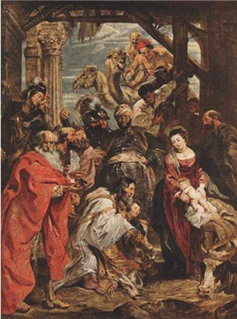 click here to view larger image of Adoration of the Magi - Rubens 3 (chart)
