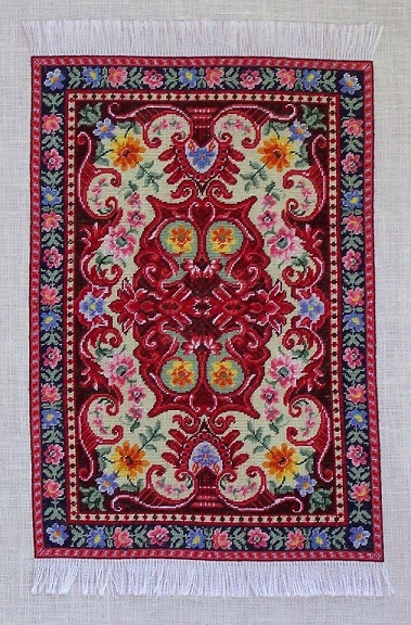 click here to view larger image of Tapis aux Fleurs (chart)
