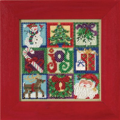 click here to view larger image of Joy Of Christmas (2015) (counted cross stitch kit)