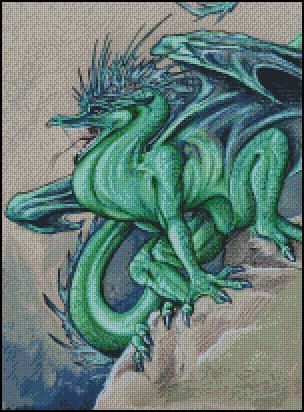 click here to view larger image of Aqua Dragon (chart)
