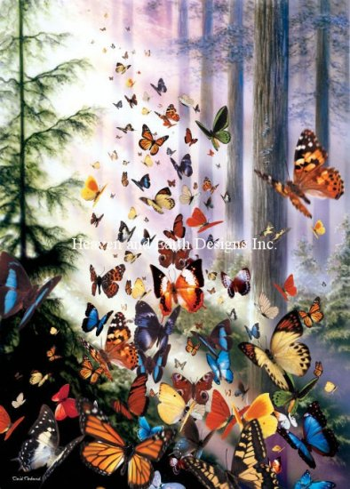 click here to view larger image of Mini Butterfly Woods (chart)