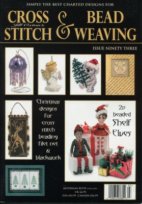 click here to view larger image of Cross Stitch & Bead Weaving Issue #93 (magazines)
