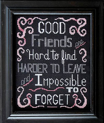 click here to view larger image of Good Friends (chart)