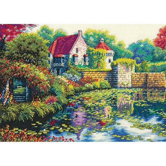click here to view larger image of English Castle (counted cross stitch kit)