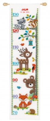click here to view larger image of Forest Animals 2 (counted cross stitch kit)