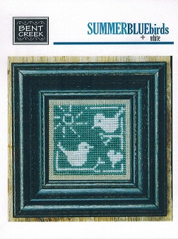 click here to view larger image of Summer Blue + White Birds (chart)