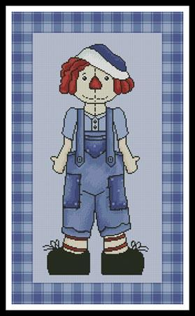click here to view larger image of Country Andy  (Whimsy Primsy) (chart)