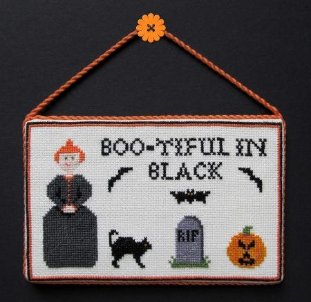 click here to view larger image of Boo-tiful In Black (chart)
