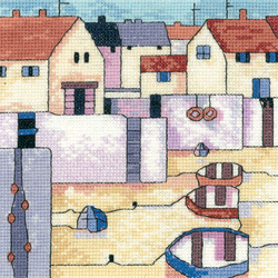 click here to view larger image of Harbour View - Painted Harbors (Aida) (counted cross stitch kit)