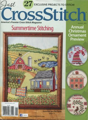 click here to view larger image of Just Cross Stitch - July/August 2015 (magazines)