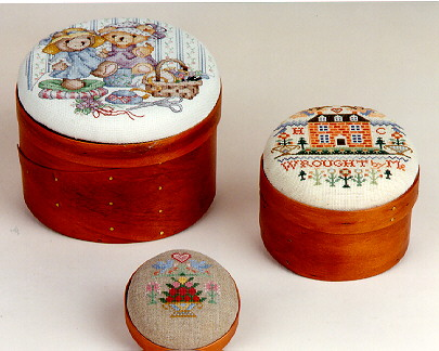 click here to view larger image of Sudberry House - Round Shaker Boxes (accessory)